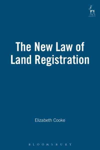 The new law of land registration : Elizabeth Cooke (author