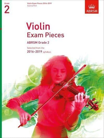 jacket, Violin Exam Pieces 2016-2019, ABRSM Grade 2, Score & Part
