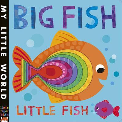 Big fish little fish fhiona galloway illustrator for Big fish screen printing