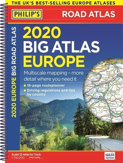 Philip's Big Road Atlas Europe