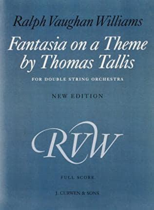 Fantasia On A Theme By Thomas Tallis Not Available Na 9781849385428 Blackwell S