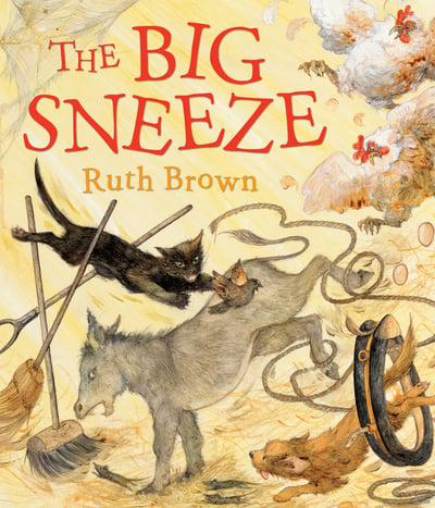 image of book to turn into a sensory story - The Big Sneeze by Ruth Brown