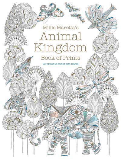 Jacket Millie Marottas Animal Kingdom Book Of Prints