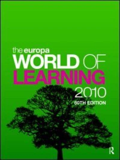 The Europa World of Learning 2010