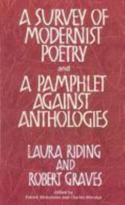 A Survey of Modernist Poetry