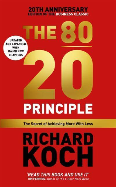 The 8020 principle richard koch author 9781857886849 jacket the 8020 principle fandeluxe Choice Image
