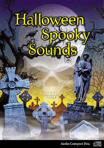 halloween spooky sounds cd