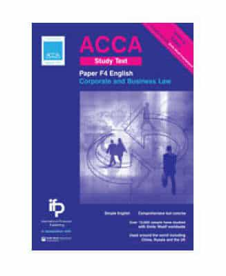 acca f4 corporate and business law eng Name acca the association of chartered certified accountants paper f4 corporate and business law (english) practice and revision kit 2017 2018 bpp.