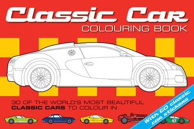 Classic Car Colouring Book Pitchall 9781907604386 Blackwell S