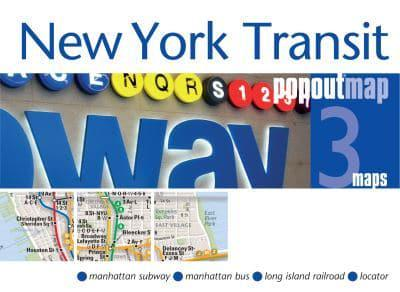 Subway Map Creator New York.New York Transit Popout Map Popout Maps Creator 9781910218662