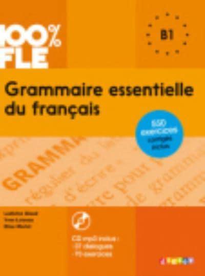 Grammaire Essentielle Du Francais Livre Cd B1