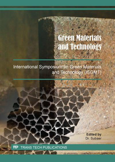 Green Materials and Technology