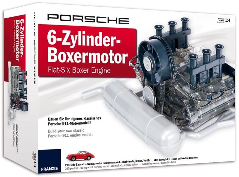 jacket, PORSCHE Flat-Six Boxer Engine Model Kit