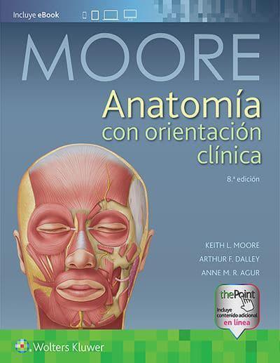 Anatomía con orientación clínica : Keith L. Moore (author ...
