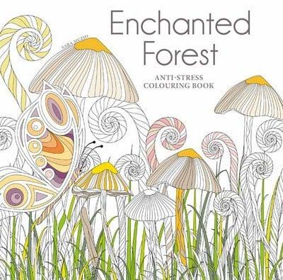 Enchanted Forest Anti Stress Colouring Book