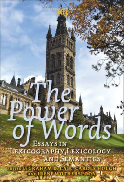 the power of words essays in lexicography lexicology and semantics The power of words essays in lexicography, lexicology and semantics in honour of christian j kay.