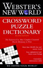 ISBN: 9780028612126 - Webster's New World Crossword Puzzle Dictionary