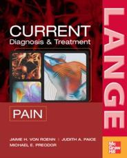 Current Diagnosis and Treatment of Pain