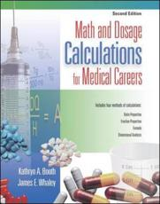 Math and Dosage Calculations for Medical Careers with CDROM