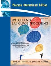 ISBN: 9780135041963 - Speech and Language Processing: International Version