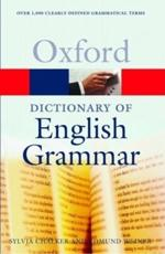 ISBN: 9780192800879 - The Oxford Dictionary of English Grammar