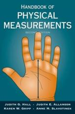 Handbook of Physical Measurements: