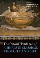 ISBN: 9780199589425 - The Oxford Handbook of Animals in Classical Thought and Life