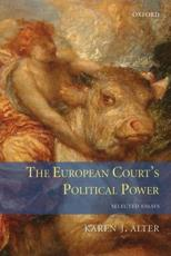ISBN: 9780199595143 - The European Court's Political Power