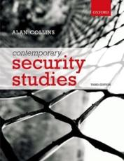 ISBN: 9780199694778 - Contemporary Security Studies