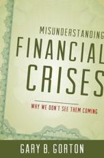 ISBN: 9780199922901 - Misunderstanding Financial Crises
