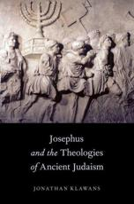ISBN: 9780199928613 - Josephus and the Theologies of Ancient Judaism