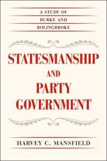 ISBN: 9780226022178 - Statesmanship and Party Government