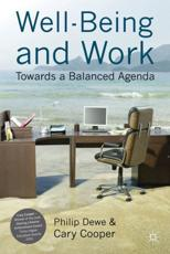 ISBN: 9780230243521 - Well-Being and Work