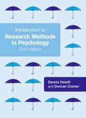 ISBN: 9780273726074 - Introduction to Research Methods
