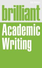 ISBN: 9780273775133 - Brilliant Academic Writing