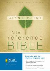 Giant Print Reference Bible NIV