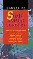 Manual of Small Animal Surgery