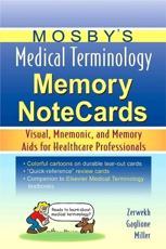 Mosbys Medical Terminology Memory Notecards