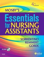 ISBN: 9780323066211 - Mosby's Essentials for Nursing Assistants