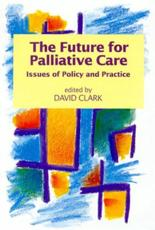 The Future for Palliative Care