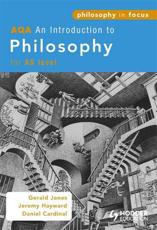 ISBN: 9780340965252 - AQA an Introduction to Philosophy for AS Level