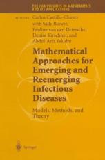 Mathematical Approaches for Emerging and Reemerging Infectious Diseases