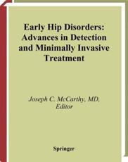 Early Hip Disorders