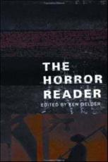 ISBN: 9780415213561 - The Horror Reader