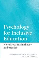 A Psychology for Inclusive Education