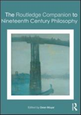 ISBN: 9780415404518 - The Routledge Companion to Nineteenth Century Philosophy