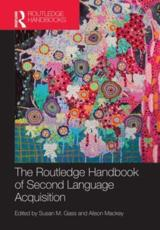ISBN: 9780415479936 - The Routledge Handbook of Second Language Acquisition