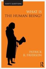ISBN: 9780415558457 - What is the Human Being?