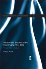 ISBN: 9780415671538 - Inclusion and Exclusion in the Liberal Competition State