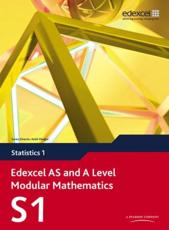 ISBN: 9780435519124 - Edexcel AS and A Level Modular Mathematics Statistics 1 S1